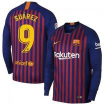 542ea828b5 Busca Camisa Barcelona infantil mangá longa com os melhores preços ...