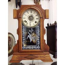 Antigo Relógio De Mesa E Parede Ansonia