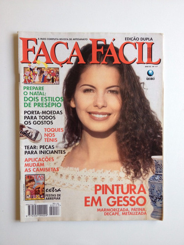 06de0d5c9b Revista Faça Fácil Pintura Em Gesso Ponto Cruz Nº117
