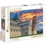 Quebra Cabeça Puzzle 500 Peças Torre De Pisa Italia Paisagem