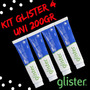 Creme Dental Glister Multi ação amway Kit 4 Uni 200g