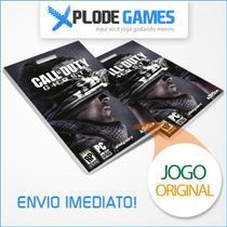 Call Of Duty Ghost Pc - Cod Ghost Pc -pronta Entrega