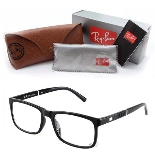 7e6cbc753c505 Armação Óculos Grau Rayban 5001 Feminino Masculino Promoção