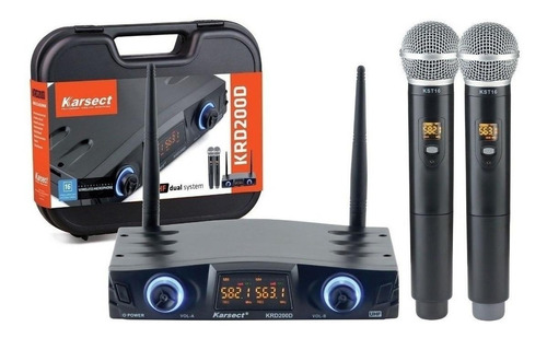 Kit De Microfones Karsect Krd-200dm