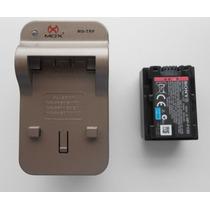 Bateria Sony Np-fv30+ Carregador Trp
