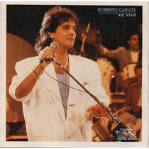 Cd - Roberto Carlos - Ao Vivo - Frete 1 Real