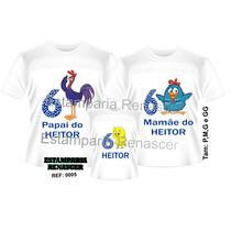 Camisetas Personalizada Aniversario Galinha Pintadinha