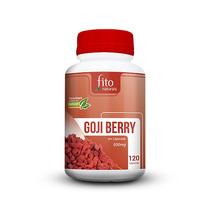 Goji Berry Original 100% Pura E Natural 120 Cápsulas 500mg