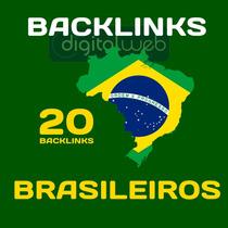 Comprar Backlinks Brasileiros 20 Alta Autoridade Seo