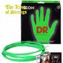 Encordoamento P/ Baixo De  6 Cordas Dr Neon - Verde