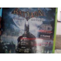 Batmam Arkham Asylum Original:xbox 360