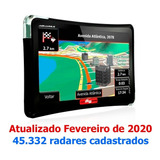 Gps Automotivo 4,3 Polegadas  Tv Digital E Alerta De Radar