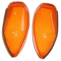 Par Lentes Traseiras Biz 100 Pop 100 Le029h Original Honda