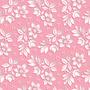 Papel De Parede Adesivo Floral Em 3d Fundo Rosa