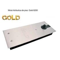 Mola Hidráulica Piso Porta Blindex Vidro Gold 8200
