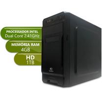 Desktop Dual Core - Ipx1800 - Ddr3 4gb - 1tbgb Basic Xxi X10
