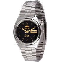 Relógio Orient Automático 469wb1a Visor Preto Original Lindo