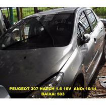 Alma Para-choque Traseiro Peugeot 307 10/11