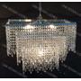 Lustre Grande Sala De Jantar Cristal Acr. Alto Brilho Europa