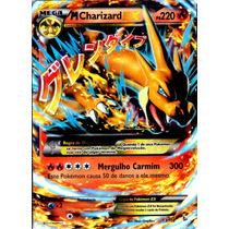 Carta Pokemon - Mega Charizard Ex - Xy Flash De Fogo