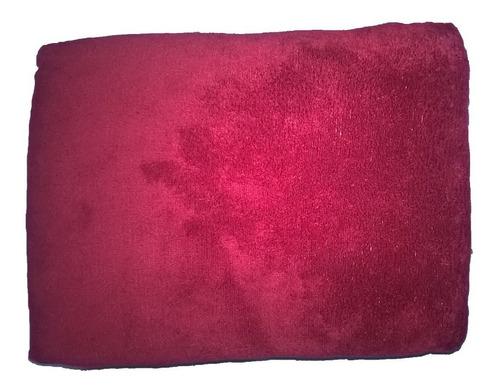 Cobertor Manta Pet Cães Gatos Microfibra 80cm X 1,10m Cereja