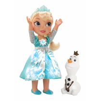 Boneca Frozen Elsa Snow Glow Luzes Canta Let It Go Original