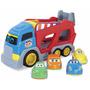 Carro Caminhão Cegonha Baby Cargo 539-bc Brinquedo Bebê