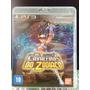 Jogo Os Cavaleiros Do Zodíaco Playstation 3, Original, Port.