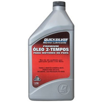 Óleo 2 Tempos Quicksilver Tc-w3 - Nova Embalagem - 1 Litro