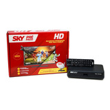 Kit 05 Receptor Sky Pré Pago Hd + Revenda Barato Promoção