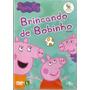 Dvd Peppa Pig - Brincando De Bobinho - Lacrado Frete Gratis