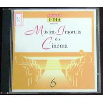 Cd Músicas Imortais Do Cinema - Vol. 6 - Coleção O Dia
