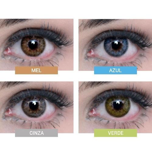 aa012797c8f88 Lentes De Contato Colorida Natural Vision Ellegant Anual à venda em ...