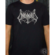 Camiseta Unleashed - Logo - Death Metal Old School