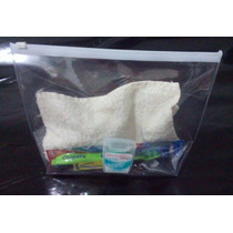 Kit C/ 15 Envelope Transparente Com Ziper