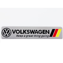 Emblema Vw Volkswagen Keep A Great Thing Going Alemanha