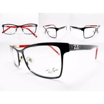 Armação Oculos Para Grau Feminino Ray Ban Barato