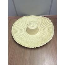 Chapéu Mexicano Sombreiro Palha