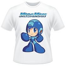 Camiseta Infantil Mega Man Capcom Rockman Megaman Game