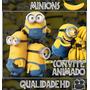 Convite Animado (vídeo) Para Aniversário Tema Minions Md2