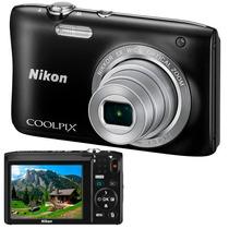 Câmera Digital Nikon Coolpix S-2900 - 20.1mp - 5x Zoom
