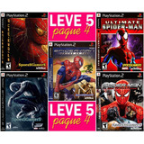 Spider Man Collection (5 Jogos) Homem Aranha Ps2 Patch