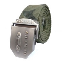 Cinto Militar Lona Camuflada Fivela De Metal 115cm