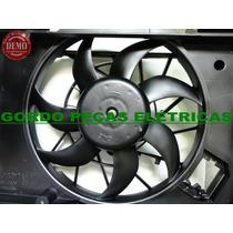 Defletor + Motor Da Ventoinha Corsa Classic 2010-2013 Sem Ar