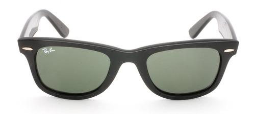 91adca156f low cost Óculos de sol ray ban wayfarer rb 2140 verde e preto 54 169b5 f3fb2