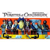 Minifiguras Piratas Do Caribe - Similar Ao Lego