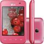Celular Lg Optimus L3 Ii E435 Dual Novo Nacional!nf+fone+cab