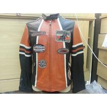 Harley Davidson Jaqueta Couro Original