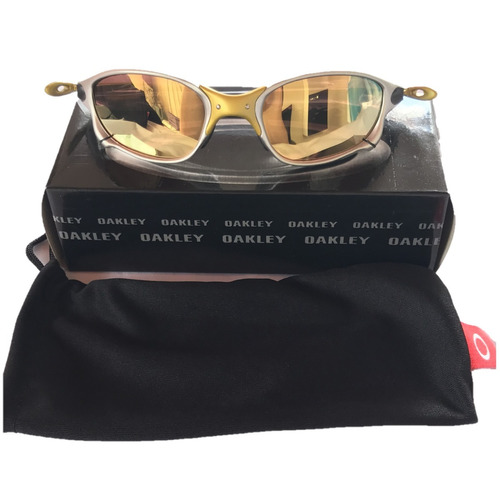 Óculos De Sol Double Xx Metal Juliet Dourada Polarizada Gold - R ... 4453c81926