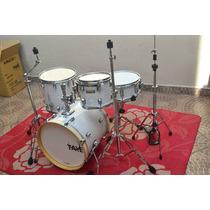 Bateria Taye Pro X White Pearl - Jazz Kit - 12 X Sem Juros